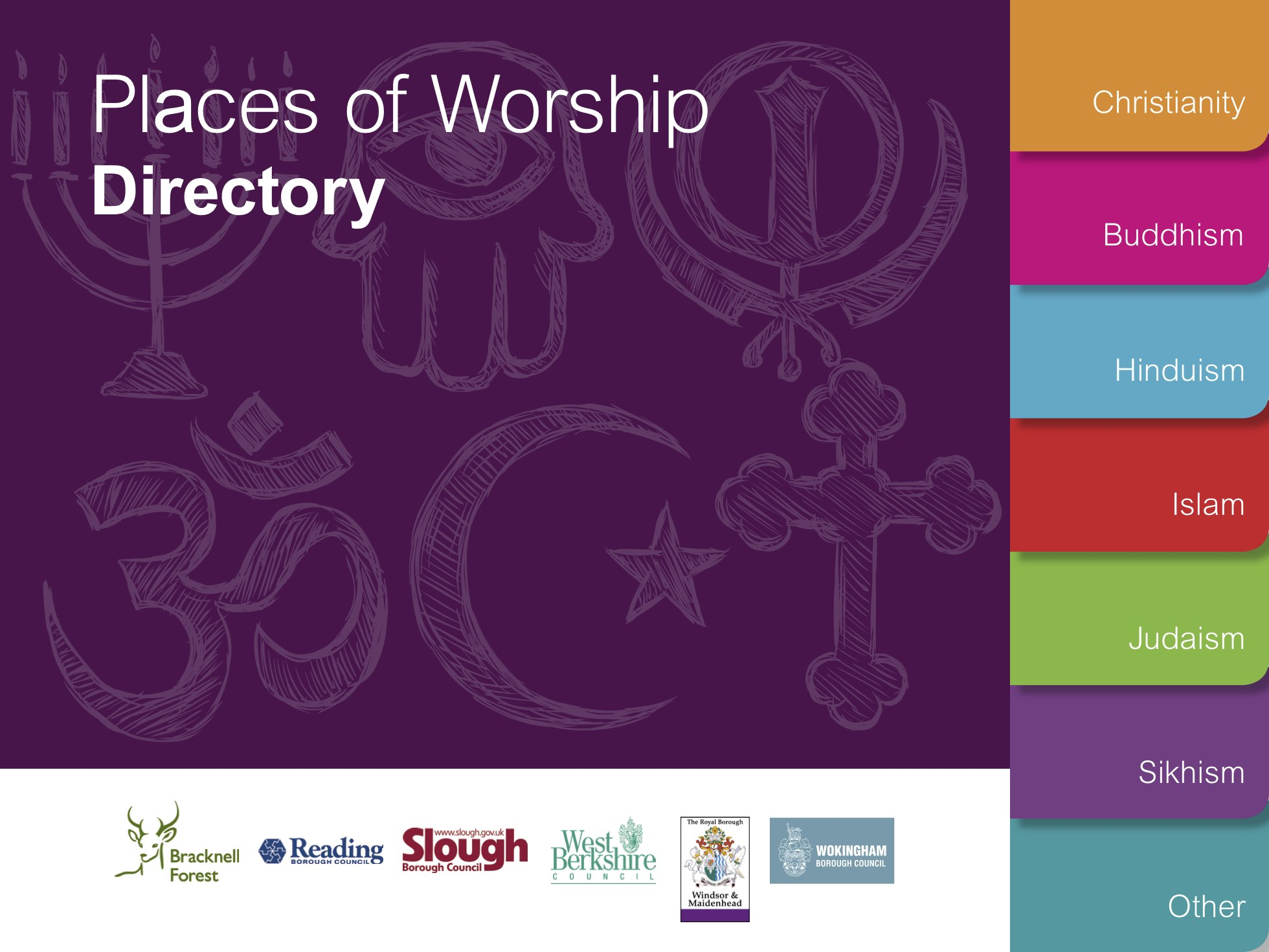 Pan Berkshire Places of Worship Directory for RE