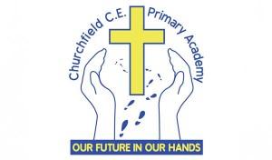 Churchfield Logo Tile