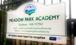 Meadow Park Academy Sign