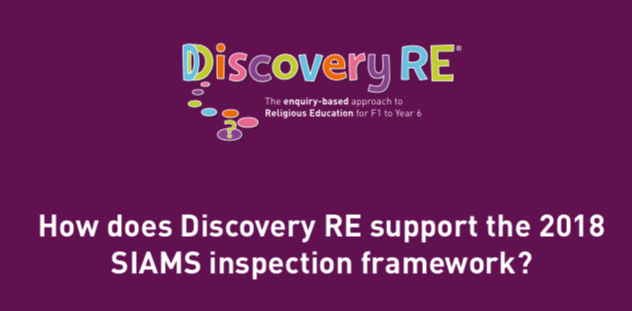 How does Discovery RE support the 2018 SIAMS inspection framework?